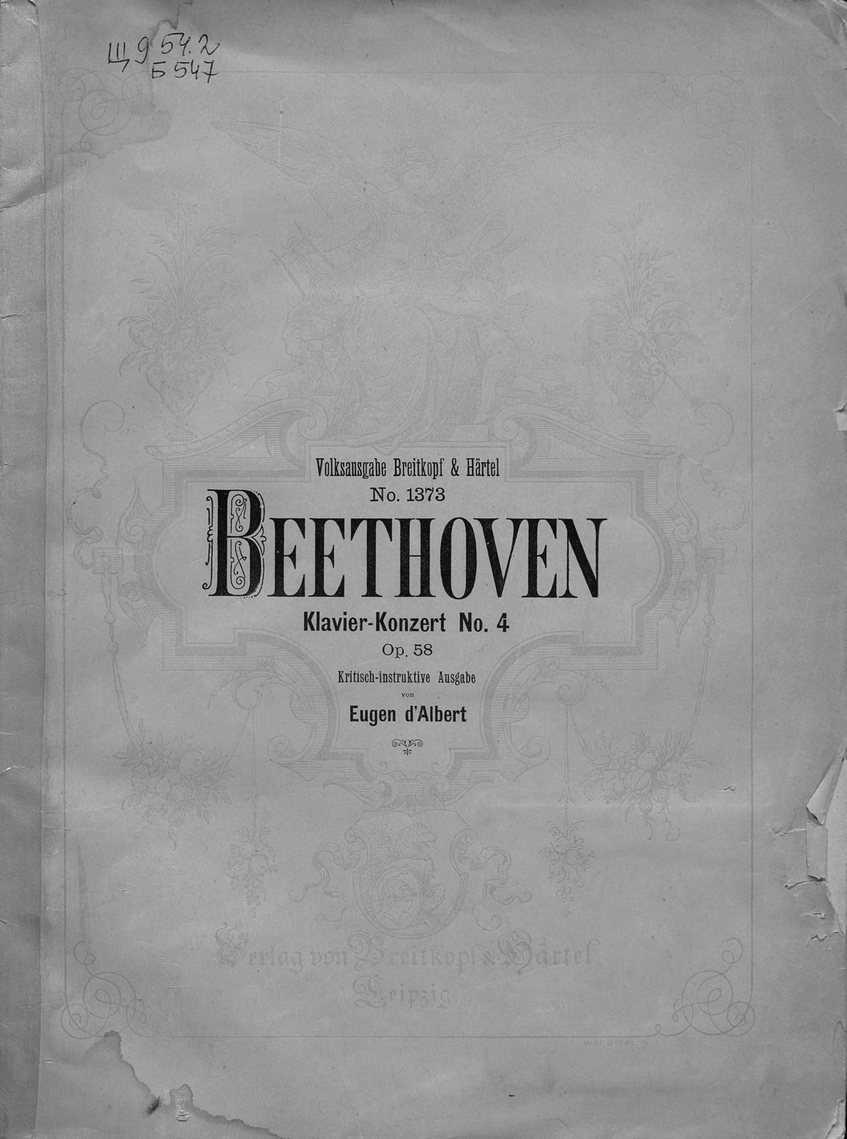 Klavier-konzerte№ 4