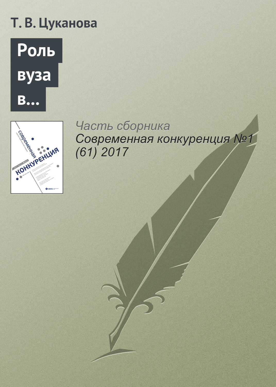 Роль вуза в формировании предпринимательских намерений студентов: российский контекст