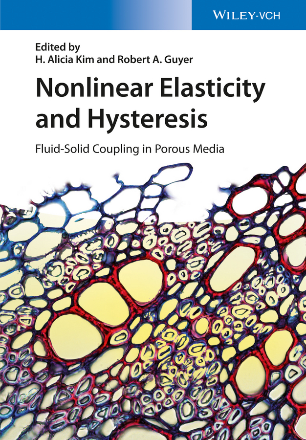 Nonlinear Elasticity and Hysteresis. Fluid-Solid Coupling in Porous Media