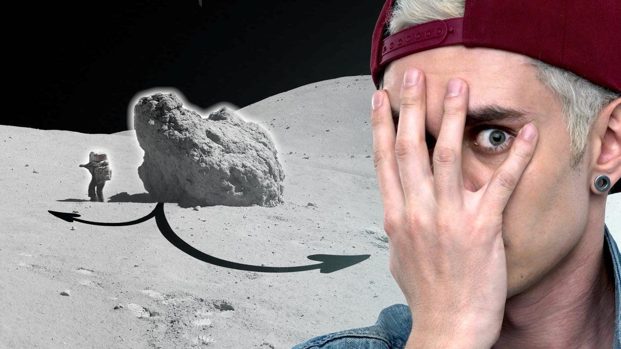 Куда ползут камни на Луне?