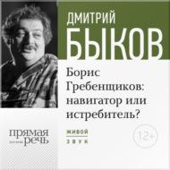 Лекция «Борис Гребенщиков навигатор или истребитель»