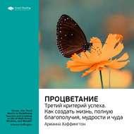Краткое содержание книги: Процветание: третий критерий успеха. Как создать жизнь, полную благополучия, мудрости и чуда. Арианна Хаффингтон