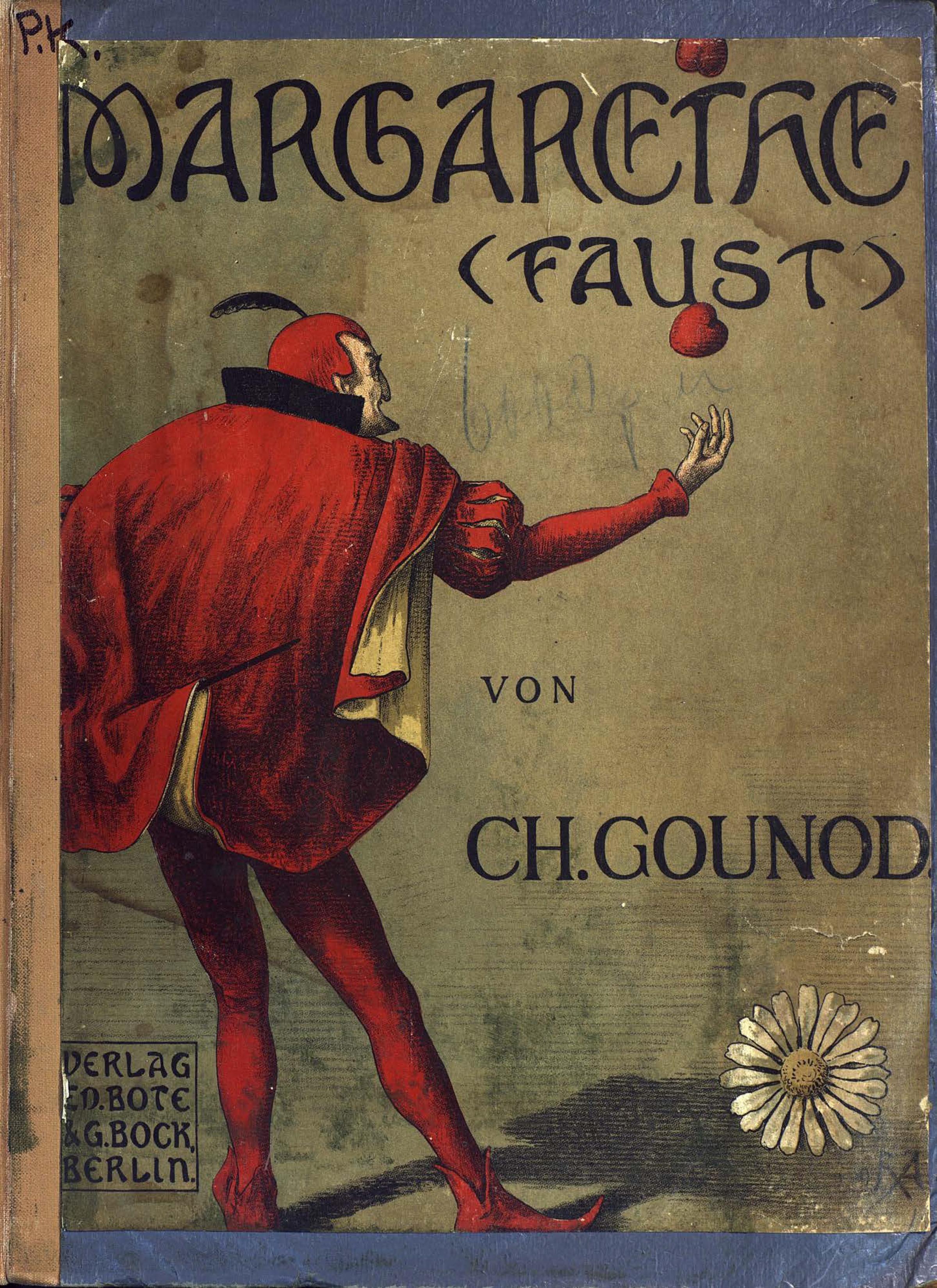 цена на Шарль Франсуа Гуно Margarethe. (Faust)