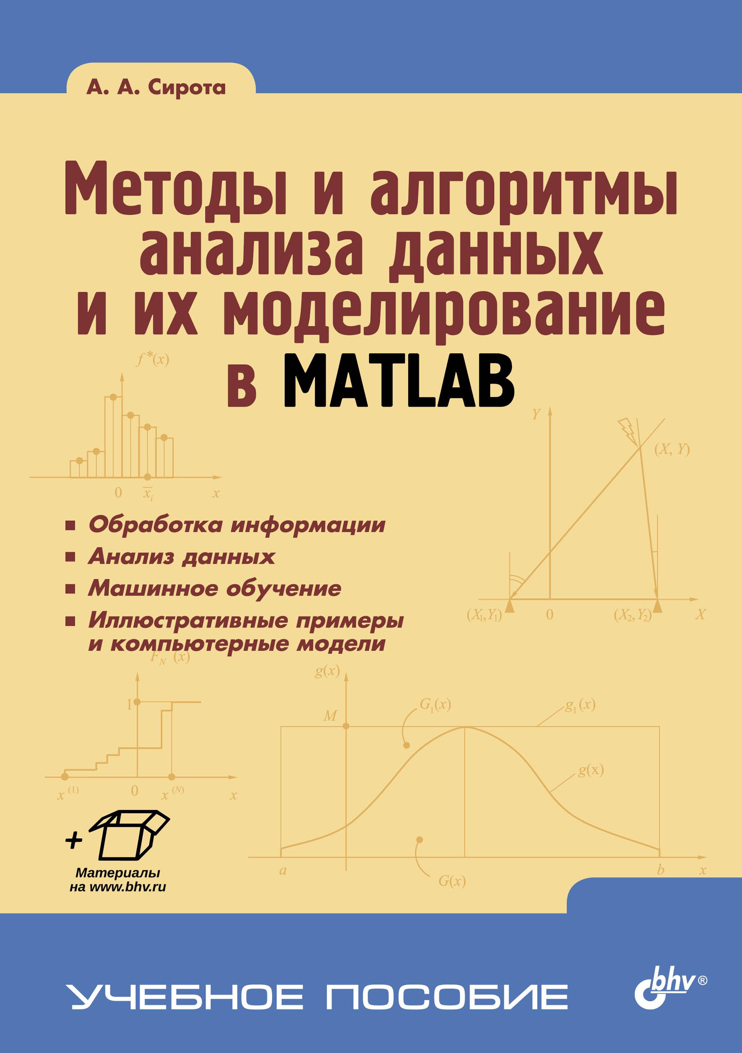 А. А. Сирота Методы и алгоритмы анализа данных и их моделирование в MATLAB гладкий а восстановление компьютерных данных