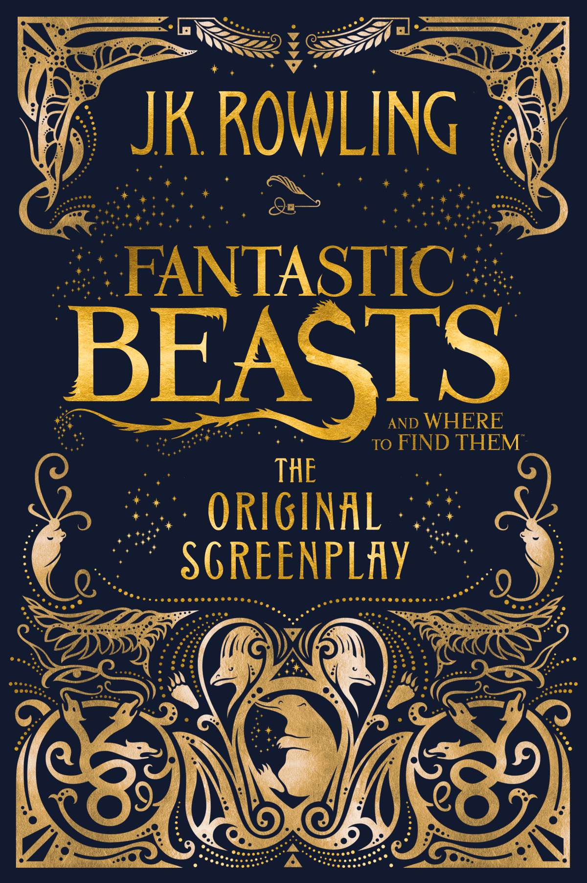 Дж. К. Роулинг Fantastic Beasts and Where to Find Them: The Original Screenplay fantastic beasts and where to find them action figure animals xx flexible bowtruckle toy doll movies magic f harri potter