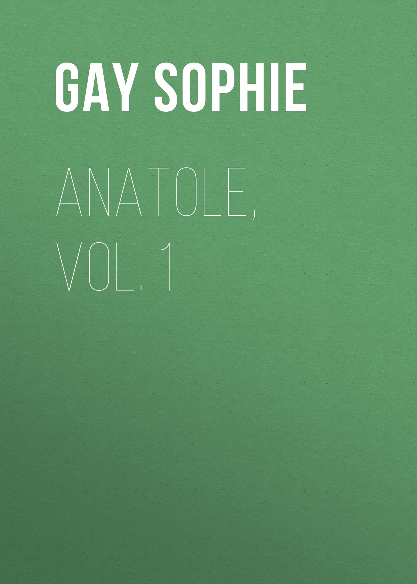Gay Sophie Anatole, Vol. 1 gay happening vol 20