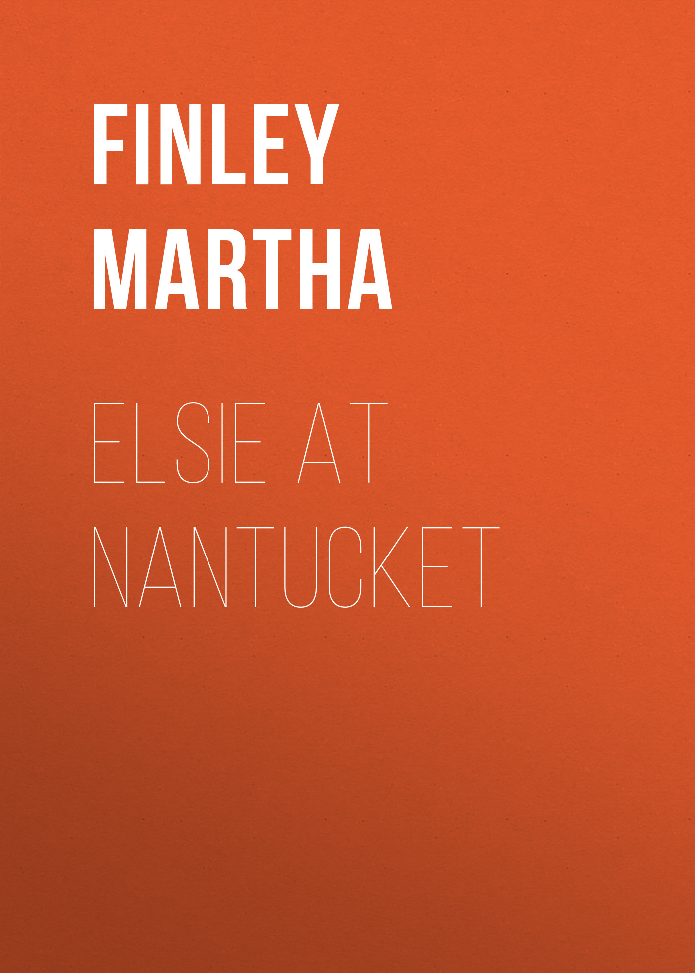 лучшая цена Finley Martha Elsie at Nantucket