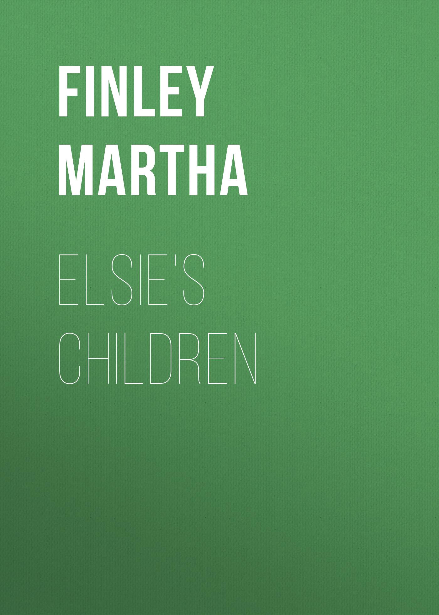 Finley Martha Elsie's children martha argerich