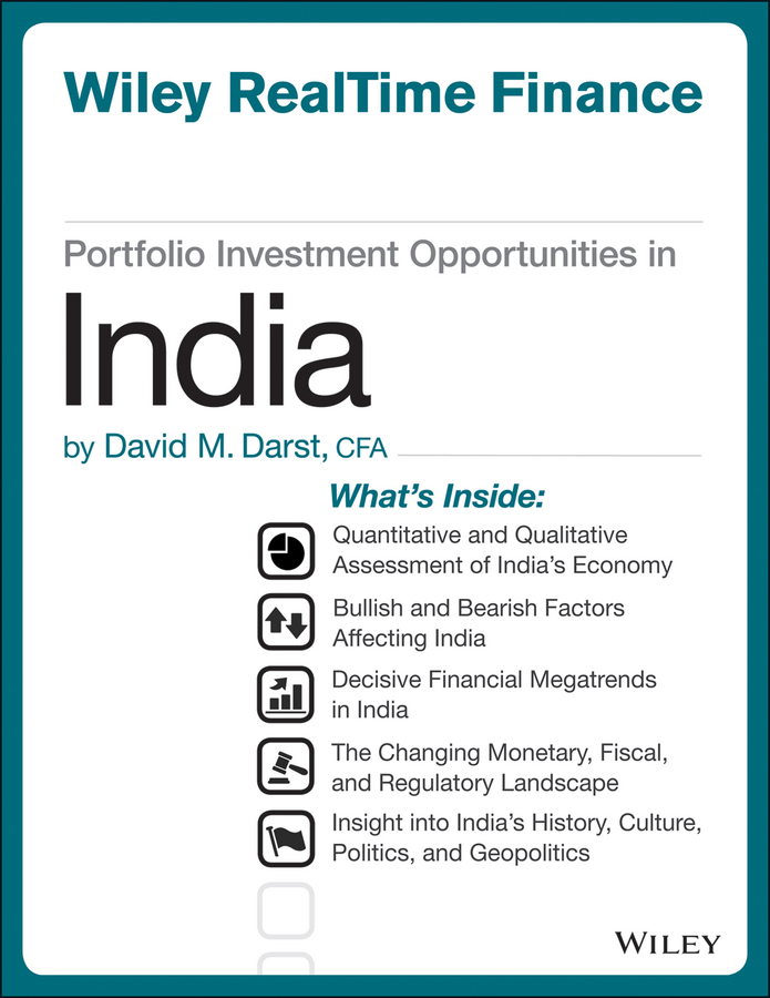 Фото - David M. Darst Portfolio Investment Opportunities in India david m darst portfolio investment opportunities in managed futures