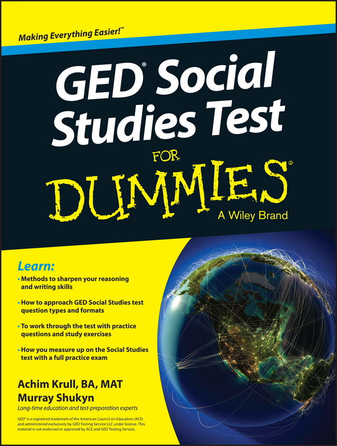 Murray Shukyn GED Social Studies For Dummies crash test dummies crash test dummies oooh la la