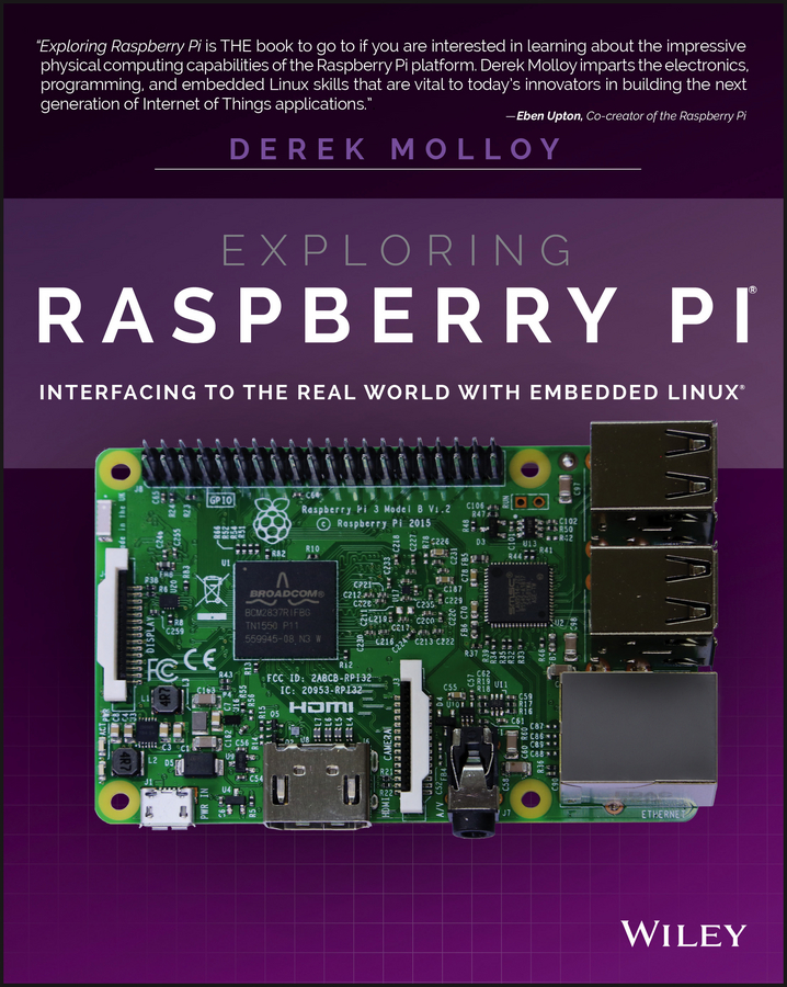 Derek Molloy Exploring Raspberry Pi. Interfacing to the Real World with Embedded Linux aluminum project box splitted enclosure 25x25x80mm diy for pcb electronics enclosure new wholesale