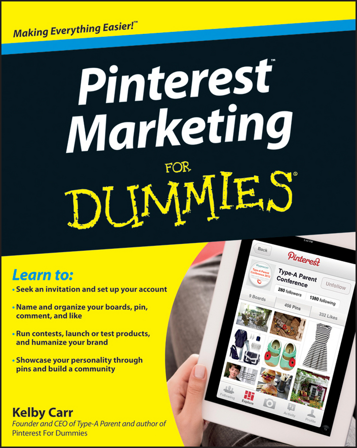 Kelby Carr Pinterest Marketing For Dummies