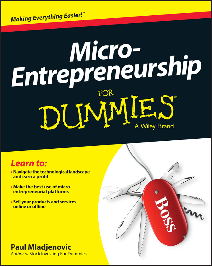 Paul Mladjenovic Micro-Entrepreneurship For Dummies 500 to 500pa micro differential pressure gauge high te2000