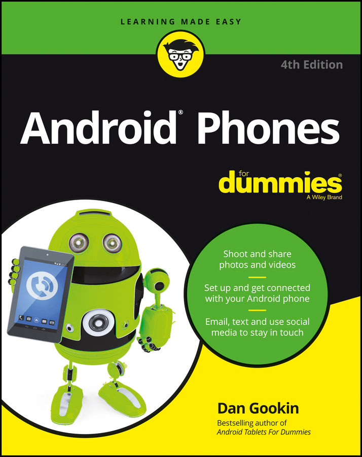 Dan Gookin Android Phones For Dummies dan gookin word 2019 for dummies