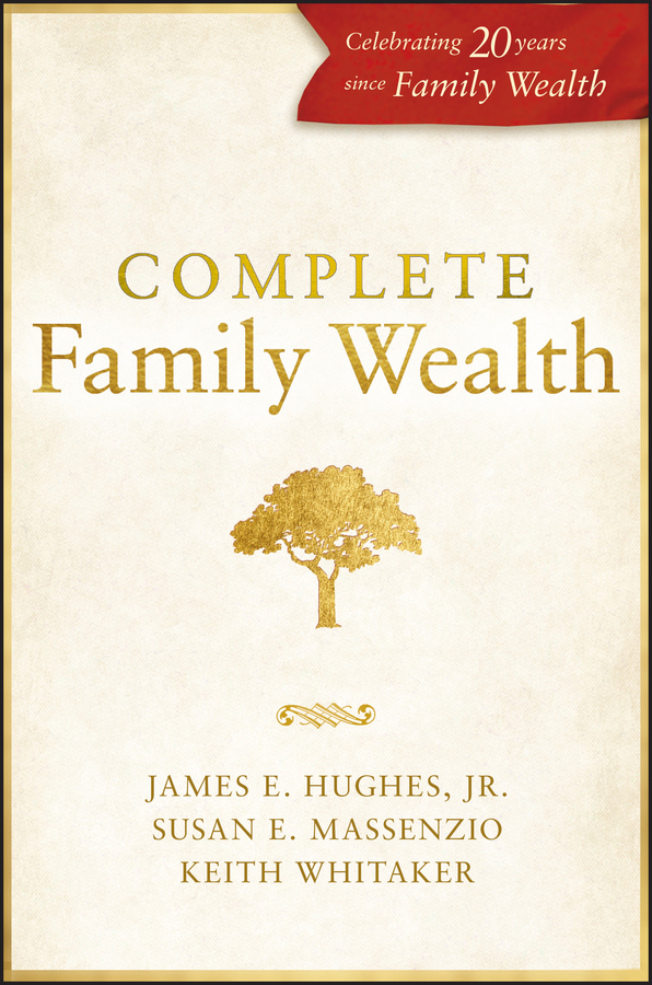 Keith Whitaker Complete Family Wealth the family mousetrap
