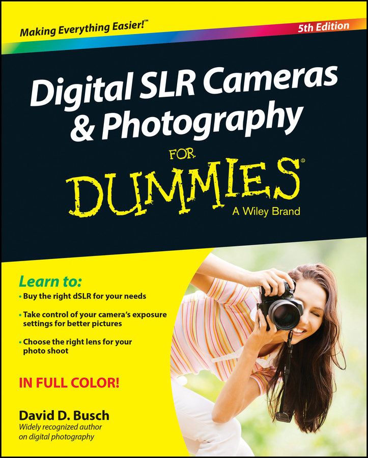 David Busch D. Digital SLR Cameras and Photography For Dummies godox qs 400d professional studio flash soft light for photography
