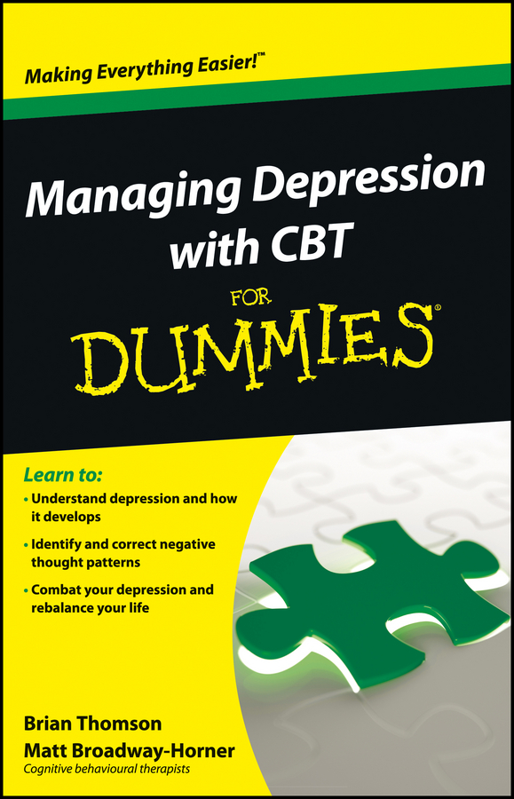 Brian Thomson Managing Depression with CBT For Dummies рубашка top secret top secret mp002xm0yj3d