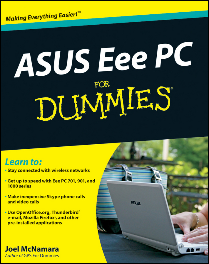 Joel McNamara ASUS Eee PC For Dummies engineering plastic holder stand for cell phone tablet pc more orange