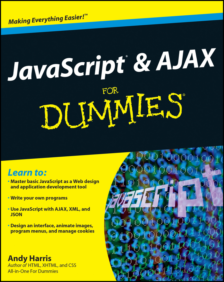 Andy Harris JavaScript and AJAX For Dummies