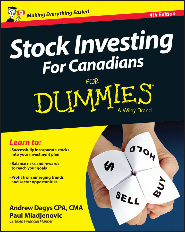Andrew Dagys Stock Investing For Canadians For Dummies new in stock dt93n14lof