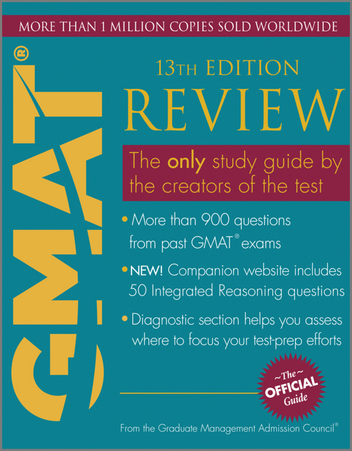 Отсутствует The Official Guide for GMAT Review supernatural the official companion season 1