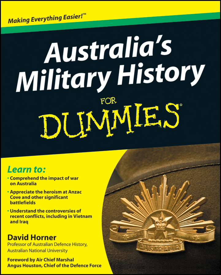 Фото - David Horner Australia's Military History For Dummies forgotten voices of the second world war war at sea and in the air