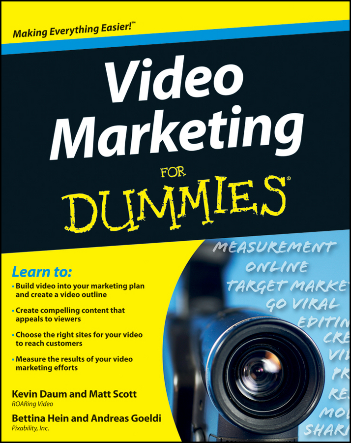 Kevin Daum Video Marketing For Dummies hollis thomases twitter marketing an hour a day