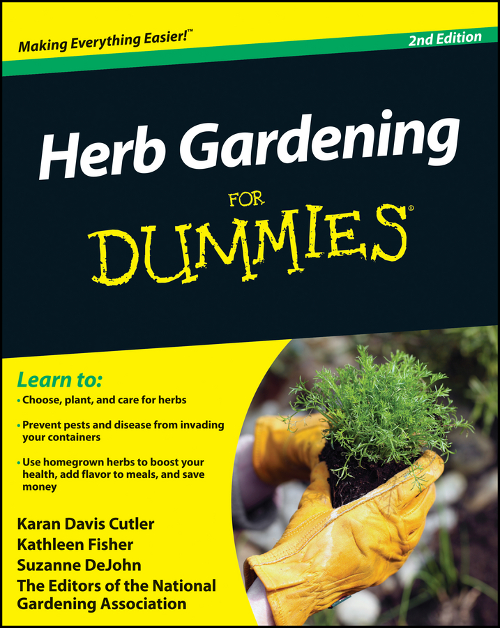Suzanne DeJohn Herb Gardening For Dummies полка ikea 28cm