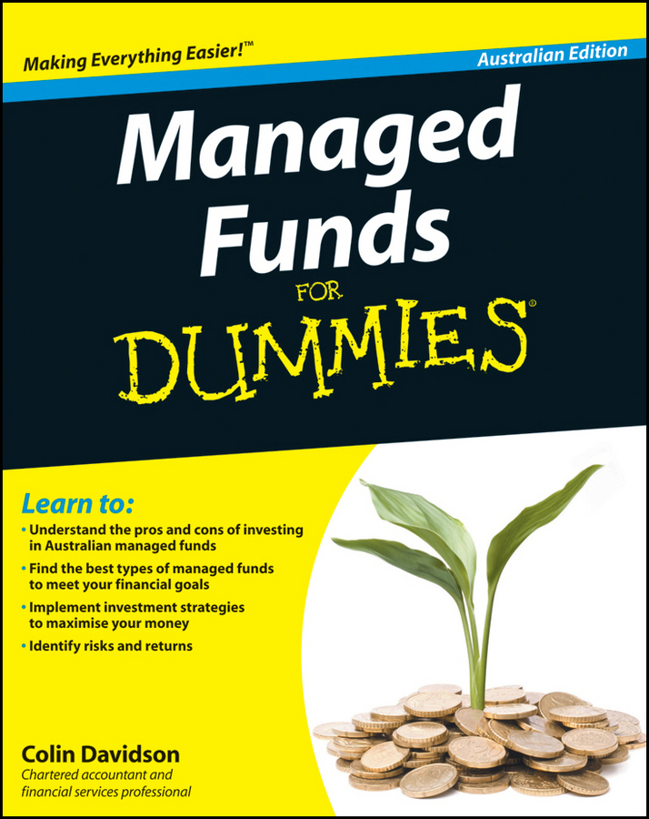 Colin Davidson Managed Funds For Dummies douglas cumming private equity fund types risks and returns and regulation