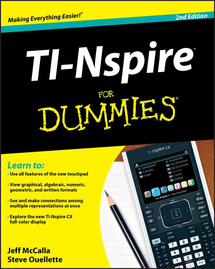 Steve Ouellette TI-Nspire For Dummies yang kuang pre calculus for dummies