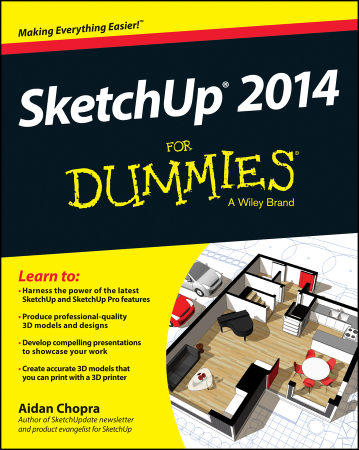Aidan Chopra SketchUp 2014 For Dummies aidan chopra google sketchup 8 for dummies