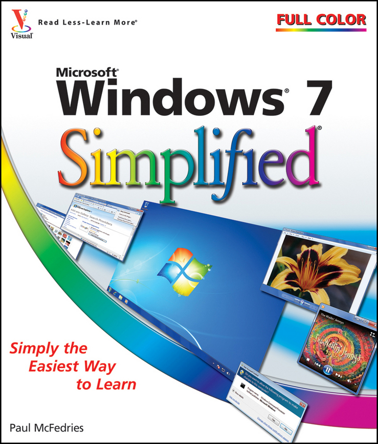 Paul McFedries Windows 7 Simplified плакат a3 29 7x42 printio инопланетянин