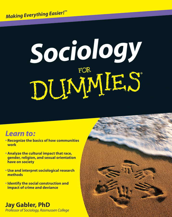 Jay Gabler Sociology For Dummies flaminio squazzoni agent based computational sociology