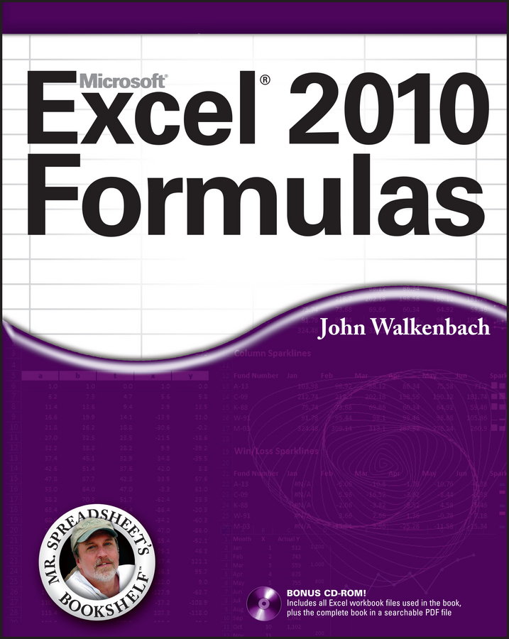 John Walkenbach Excel 2010 Formulas john walkenbach excel vba programming for dummies