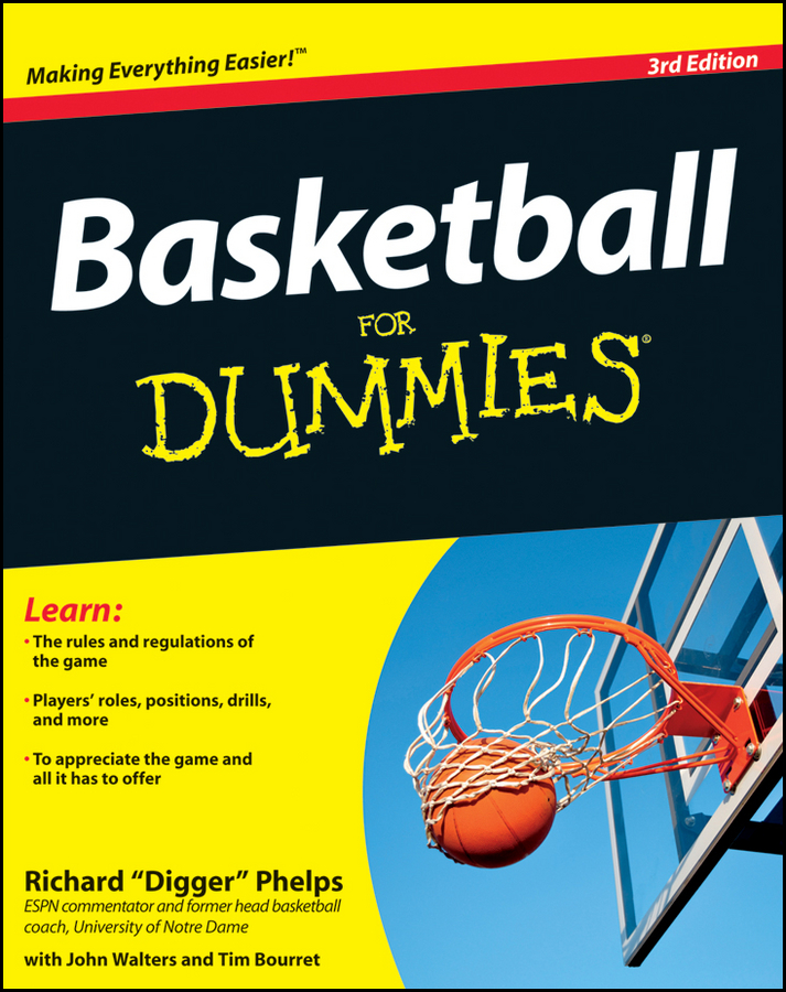 Richard Phelps Basketball For Dummies basketball player dunk wall sticker