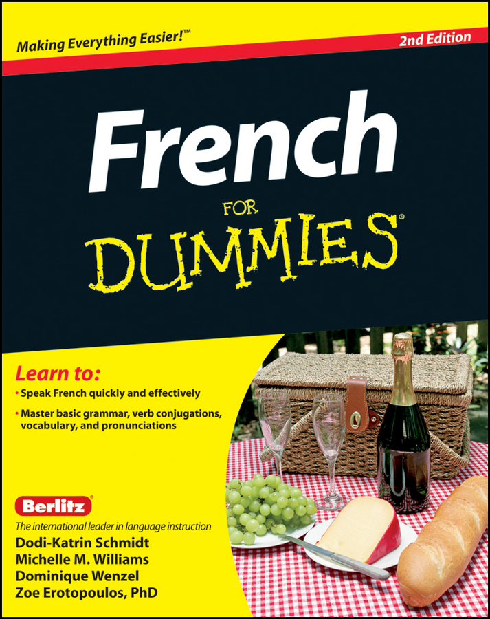 Dodi-Katrin Schmidt French For Dummies consumer dummies french all in one for dummies