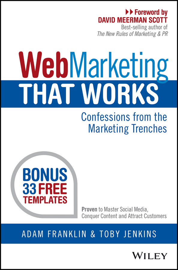 Adam Franklin Web Marketing That Works. Confessions from the Marketing Trenches supra sfd 1011 dcu