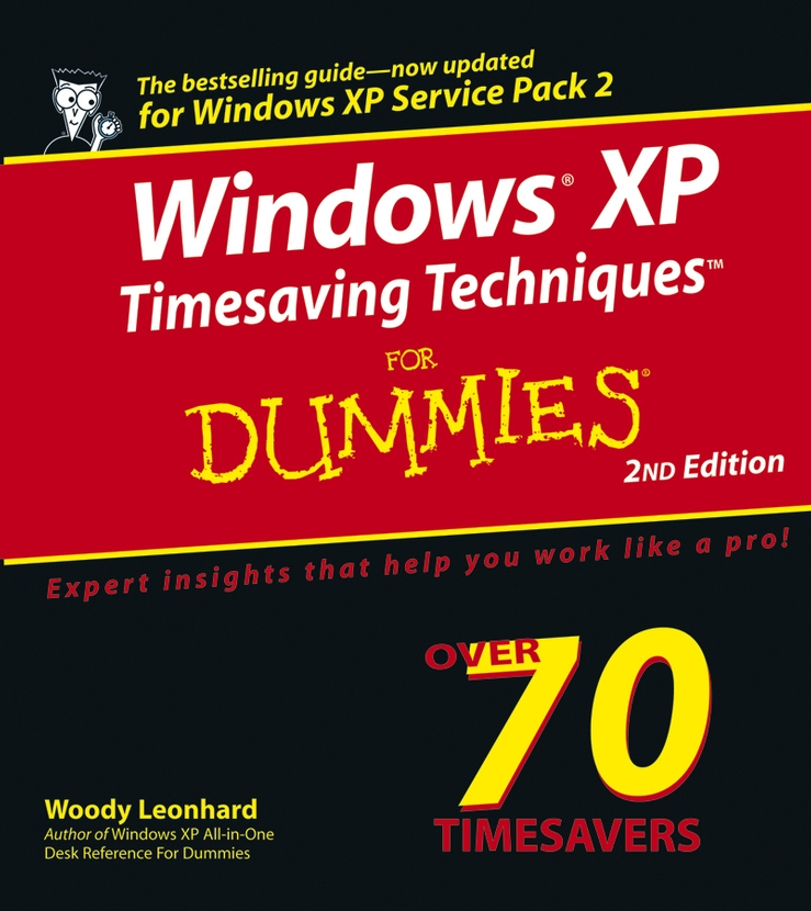 Woody Leonhard Windows XP Timesaving Techniques For Dummies woody leonhard windows 7 all in one for dummies