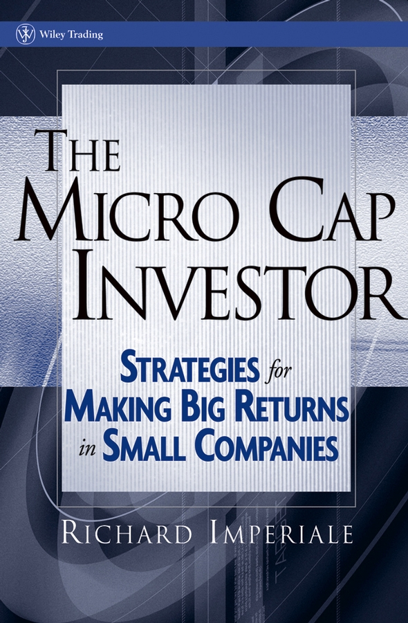 Richard Imperiale The Micro Cap Investor. Strategies for Making Big Returns in Small Companies 500 to 500pa micro differential pressure gauge high te2000