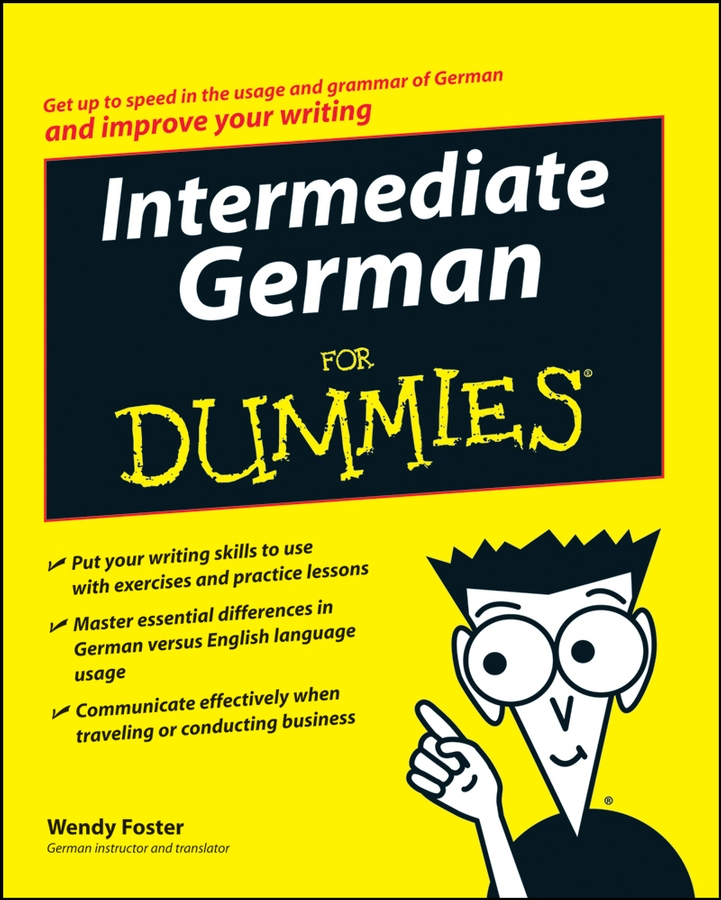 Wendy Foster Intermediate German For Dummies negotiation theory for french german business