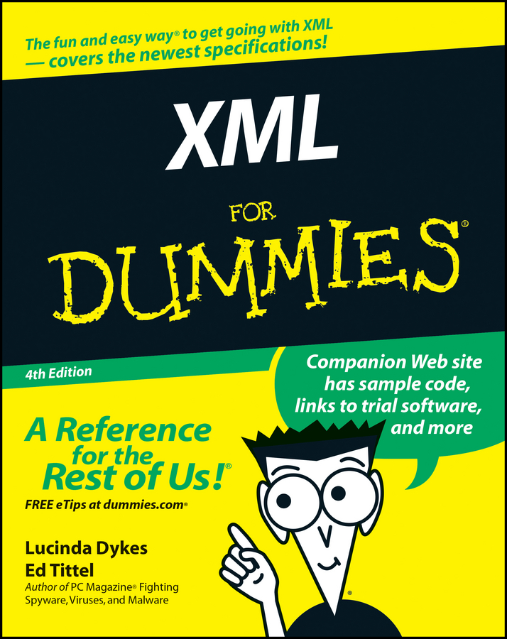 Ed Tittel XML For Dummies xml & 8874