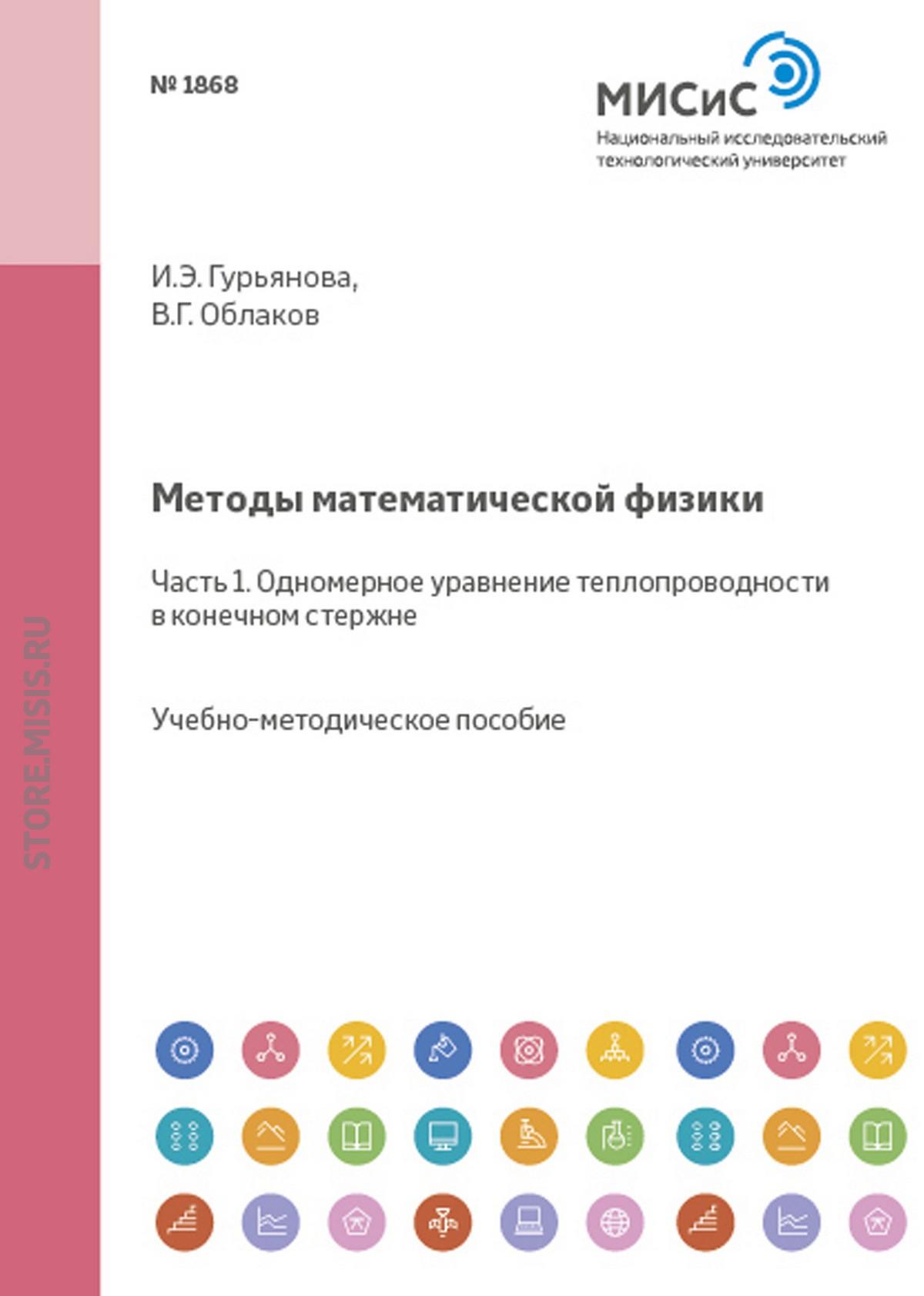 Ирина Гурьянова Методы математической физики. Часть 1. Одномерное уравнение теплопроводности в конечном стержне