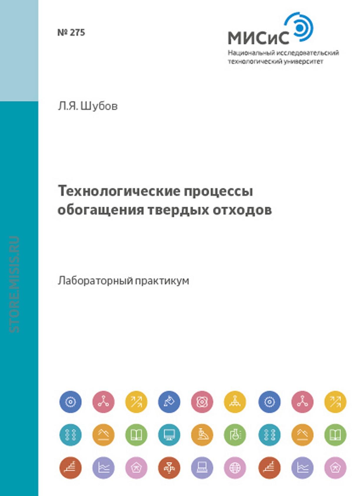 Лазарь Шубов Технологические процессы обогащения твердых отходов blue peny