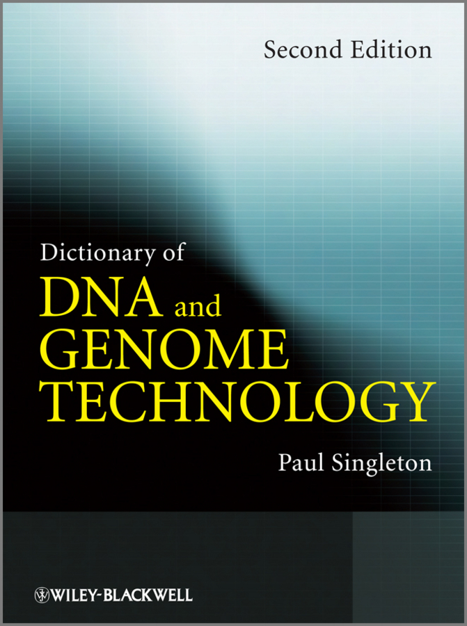Paul Singleton Dictionary of DNA and Genome Technology taxonomy