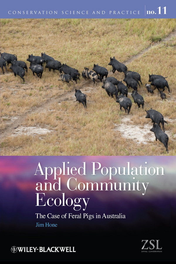 Jim Hone Applied Population and Community Ecology. The Case of Feral Pigs in Australia brokis night birds silhouette of birds in the evening sky freedom of bird flight a poetic charm and unprecedented dynamism