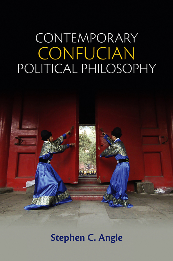 Stephen Angle C. Contemporary Confucian Political Philosophy скальп петуха veniard chinese cock cape