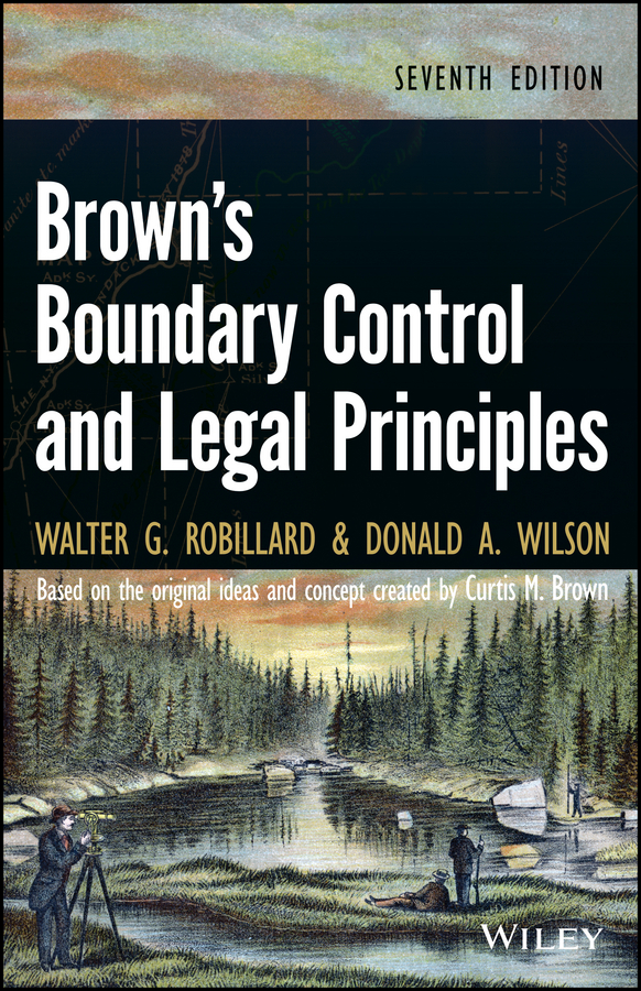 Robillard Walter G. Brown's Boundary Control and Legal Principles walter g robillard brown s boundary control and legal principles