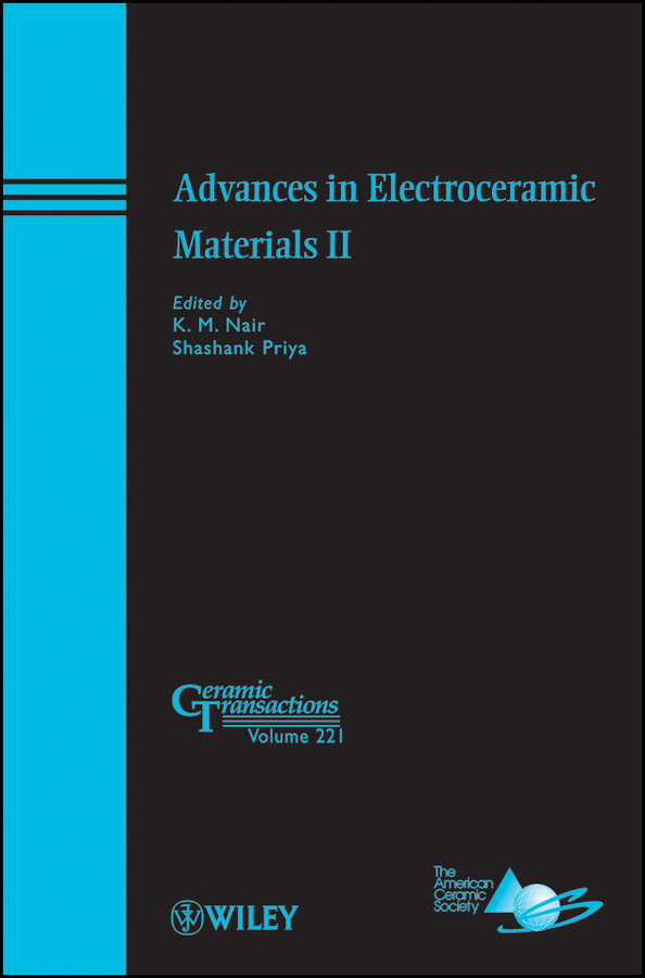 Nair K. M. Advances in Electroceramic Materials II hwato sdz ii treatment instrument electronic acupuncture stimulator machine