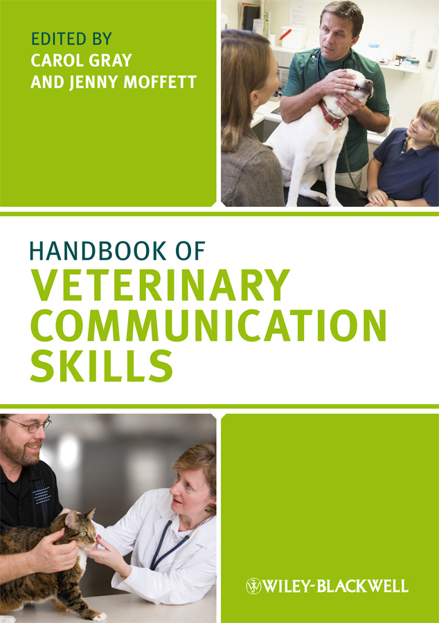 Фото - Gray Carol Handbook of Veterinary Communication Skills zajac anne m veterinary clinical parasitology isbn 9781118292037
