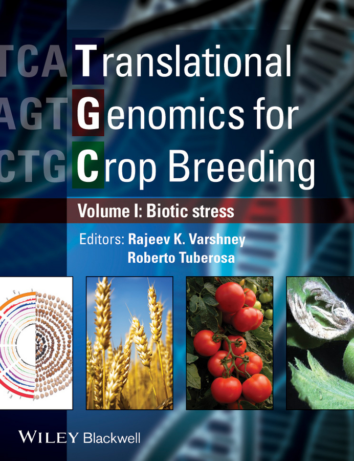 Varshney Rajeev Translational Genomics for Crop Breeding. Volume 1 - Biotic Stress black twist front high neck crop top